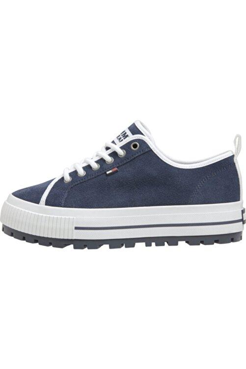 Tommy Hilfiger Kadın Mavi Wmns Cleated City Sneaker 1