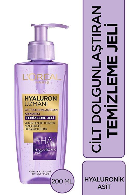 L'Oreal Paris Hyaluron Uzmanı Cilt Dolgunlaştıran Yüz Yıkama Jeli 200 ml- Hyaluronik Asit 1