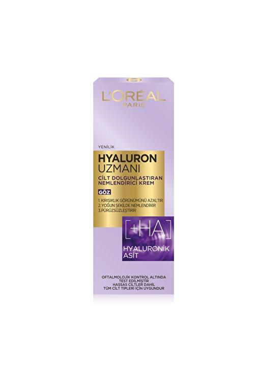 L'Oreal Paris Hyaluron Uzmanı Cilt Dolgunlaştıran Nemlendirici Göz Kremi- Hyaluronik Asit 2