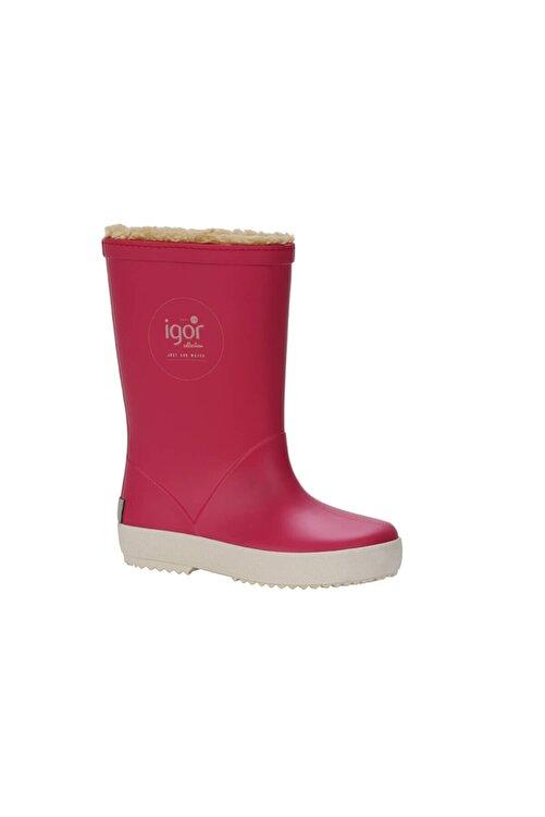 IGOR SPLASH NAUTICO BORREGUITO Fuşya Kız Çocuk Yağmur Çizmesi 100518769 1