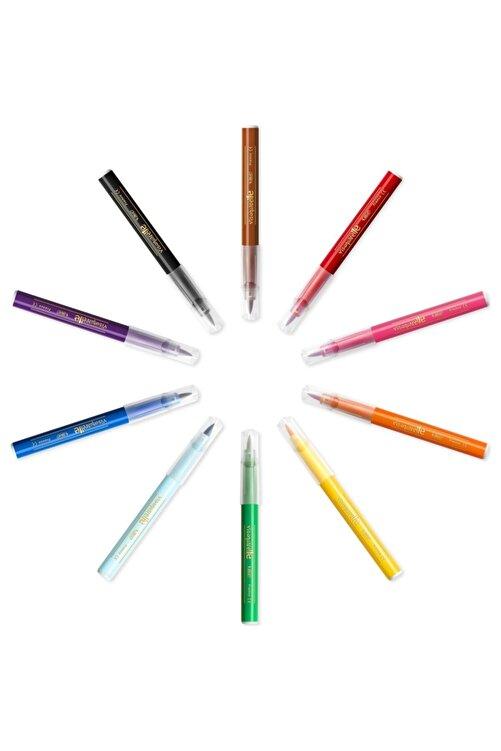 Bic Kids Visaquarelle Fırça Uçlu Keçeli Boya Kalemi 10 Renk 2