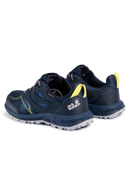 Jack Wolfskin 4042161 Woodland Texapore Low K Dark Blue/yellow Outdoor Ayakkabı 2