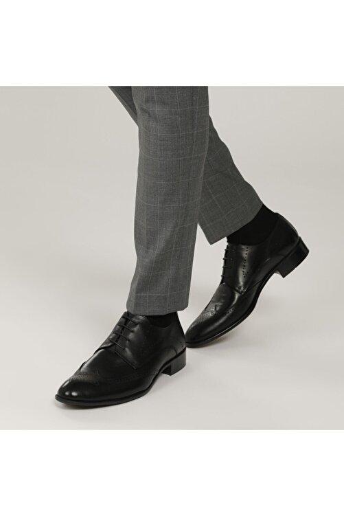 Garamond 1776-2 1FX Siyah Erkek Klasik Ayakkabı 101015105 2