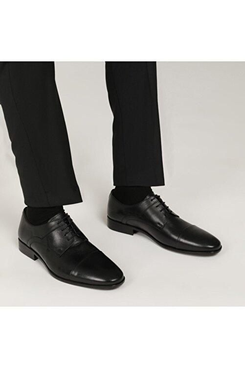 Garamond 2386-3 1 FX Siyah Erkek Klasik Ayakkabı 101015109 2