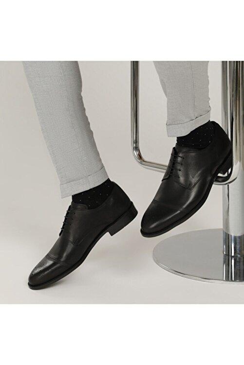 Garamond 2632 1FX Siyah Erkek Klasik Ayakkabı 101015110 1