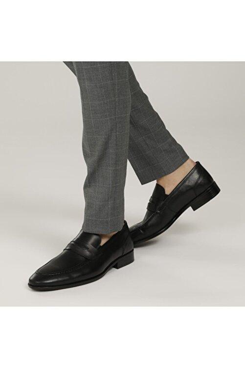 Garamond 2386-2 1fx Siyah Erkek Klasik Ayakkabı 1