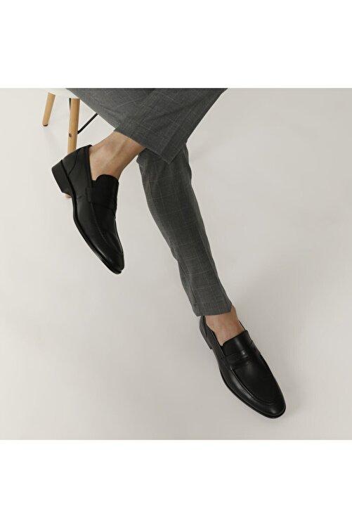 Garamond 2386-2 1fx Siyah Erkek Klasik Ayakkabı 2