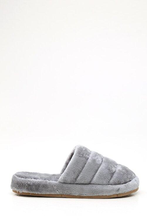 Violetta Shoes Kadın Gri Ev Terliği 1