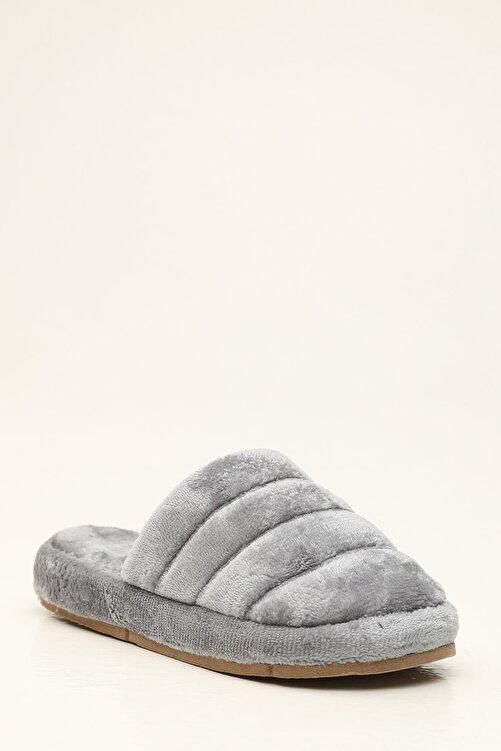 Violetta Shoes Kadın Gri Ev Terliği 2
