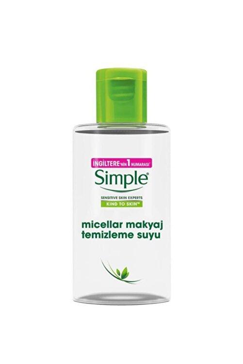 Simple Micellar Makyaj Temizleme Suyu 100 Ml 1