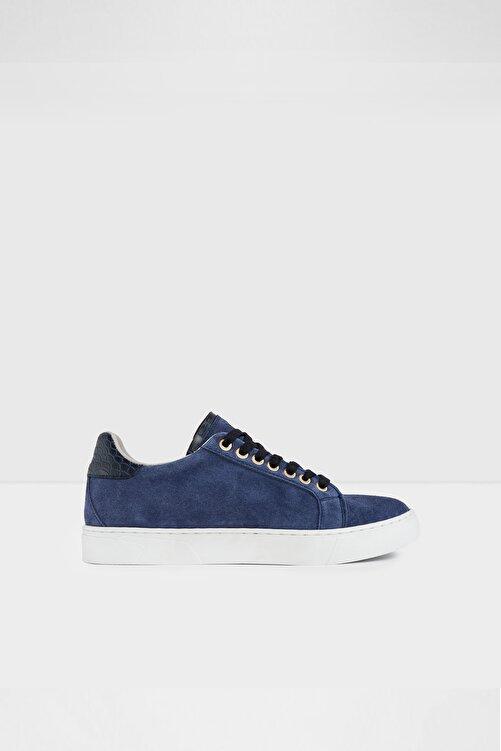 Aldo Marbella-tr - Gerçek Süet Mavi Kadın Sneaker 1