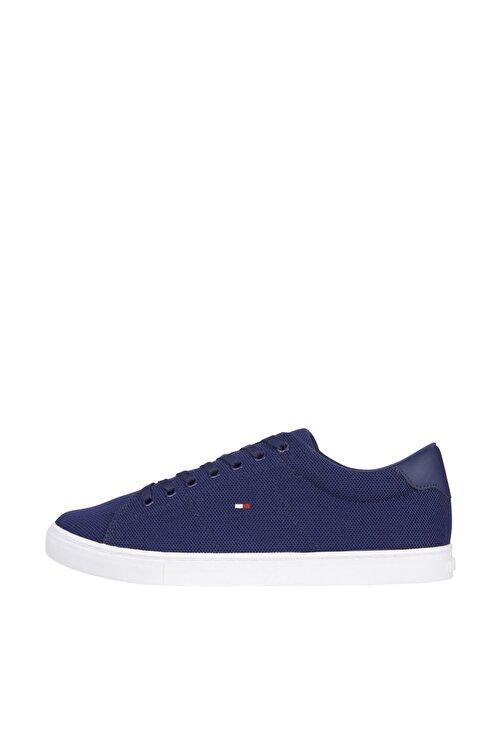 Tommy Hilfiger Erkek Mavi Sneaker Essential Knit Vulc FM0FM03474 1