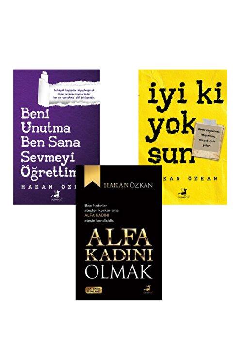 Olimpos Yayınları Hakan Özkan 3 Kitap Takım Alfa Kadını Olmak- Iyi Ki Yoksun-Beni Unutma 1