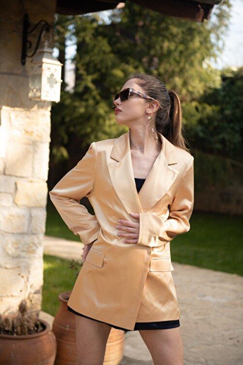 That's It Kadın  Bej Paltrow Ceket 2