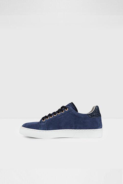 Aldo Marbella-tr - Gerçek Süet Mavi Kadın Sneaker 2