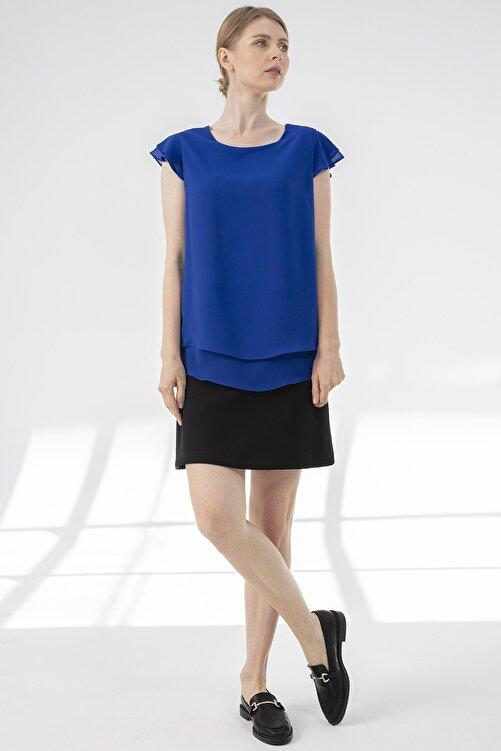 Journey Kadın Lacivert Bluz 1