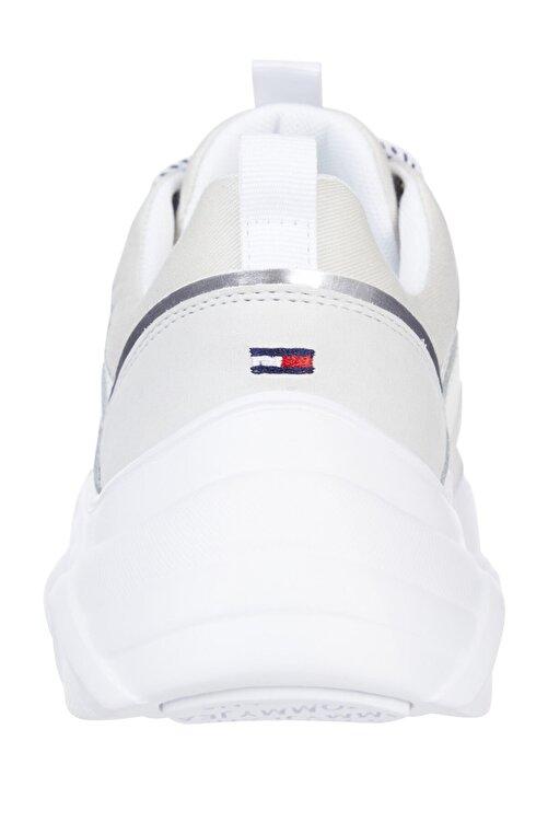 Tommy Hilfiger Kadın Beyaz Casual Ayakkabı Tommy Jeans Lightweight Shoe EN0EN01273 2