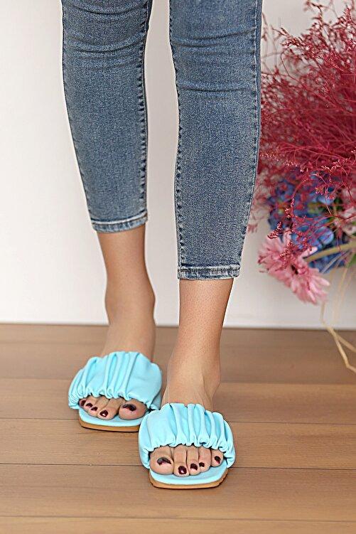 Pembe Potin Kadın Bebemavi Sandalet 2