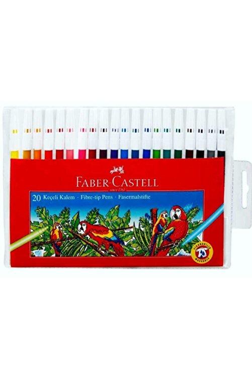 Faber Castell 20 Renk Keçeli Kalem 1