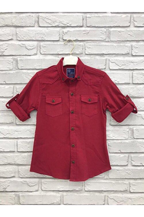 ZERDALİFE Erkek Çocuk Kırmızı Gömlek 1140 1