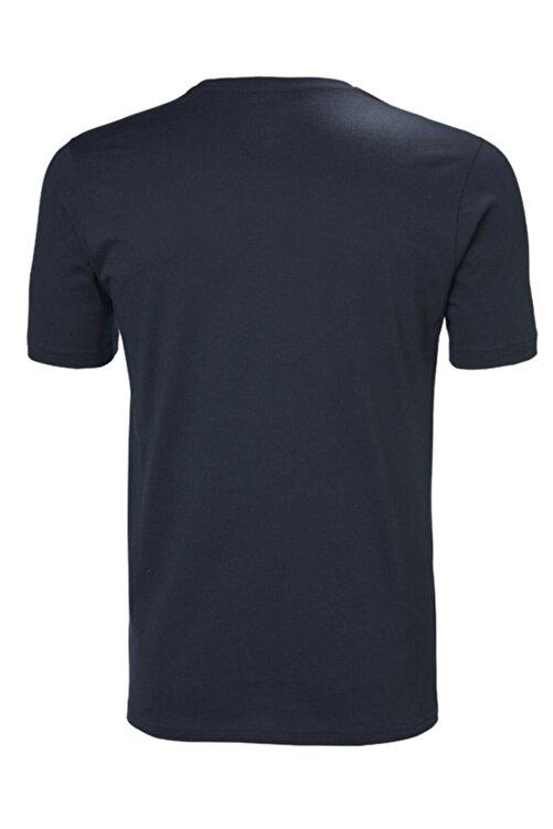 Helly Hansen Hh Logo Erkek T-shirt Lacivert 2