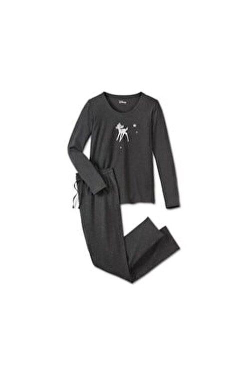 Tchibo Kadın Gümüş Pijama Takımı 2