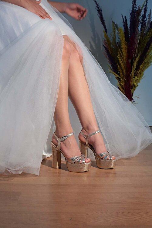 Karınca Ayakkabı 5-9238 13cm Bantlı Abiye Ayakkabı 1