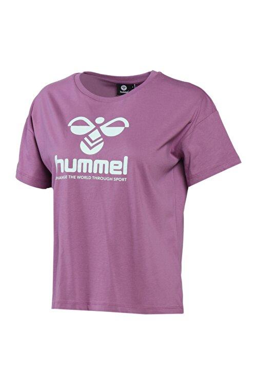 HUMMEL HMLVODER Mor Kadın T-Shirt 101085889 1