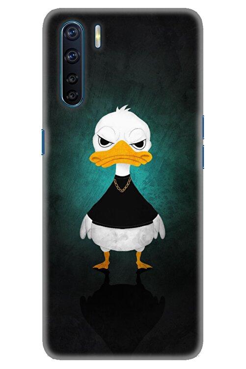 Oppo A91 / Reno 3 Kılıf Hd Baskılı Kılıf - Angry Duck 1