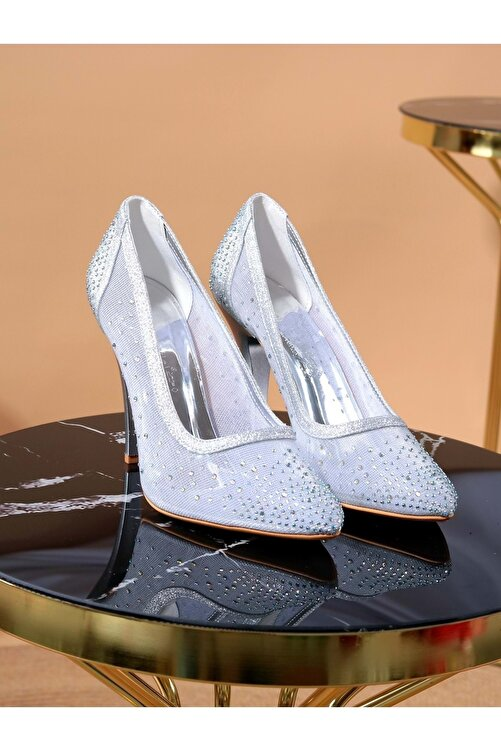 Konfores Kadın Stiletto Ince Topuk Ayakkabı 2