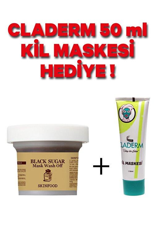 Skinfood Black Sugar Çok Kullanımlık Yenileyici Yüz Maskesi 100g 1