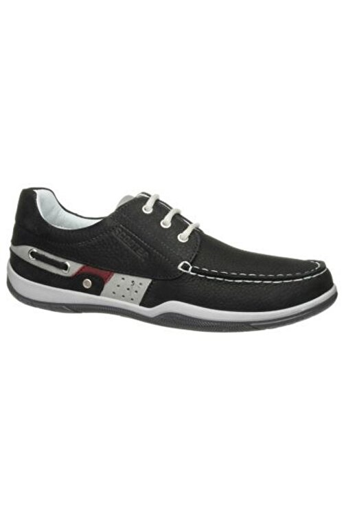 Scooter Deri Siyah Erkek Ayakkabı M2020NS 1