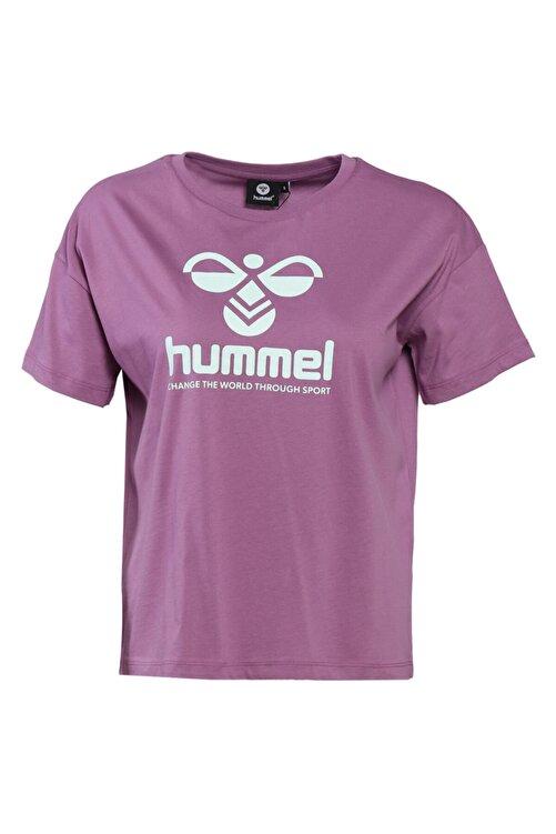 HUMMEL HMLVODER Mor Kadın T-Shirt 101085889 2