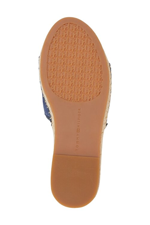 Tommy Hilfiger Kadın Mavi Sandalet Tommy Gradient Mule Espadrille FW0FW05625 2