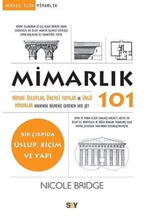 Say Yayınları Mimarlık 101 1