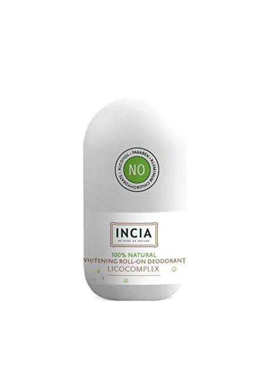 Incia Whitening Beyazlatıcı Doğal Roll On Deodorant 50 ml 1