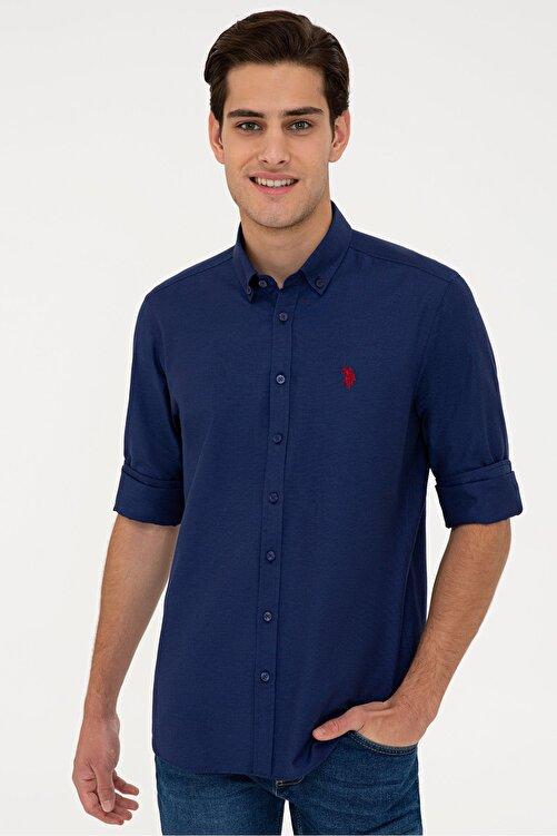 U.S. Polo Assn. Lacıvert Erkek Gömlek 1