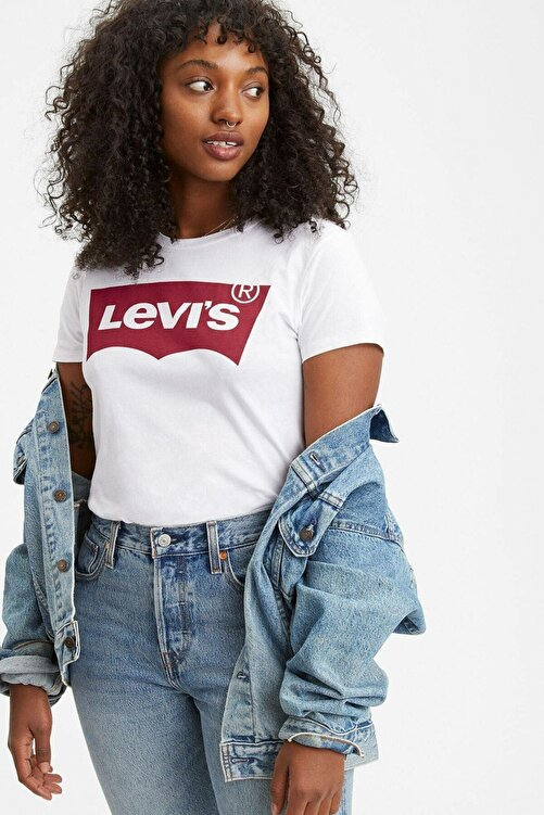 Levi's Kadın Housemark Tişört 17369-1310-1311 2