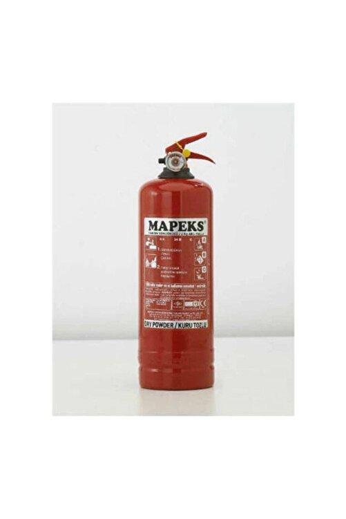 Mapeks 4 Yıl Garantili 1 kg Yangın Söndürücü Abc Tozlu Ce Belgeli 1