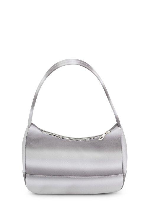 Housebags Kadın Çok Renkli Gri Baguette Çanta 197 2