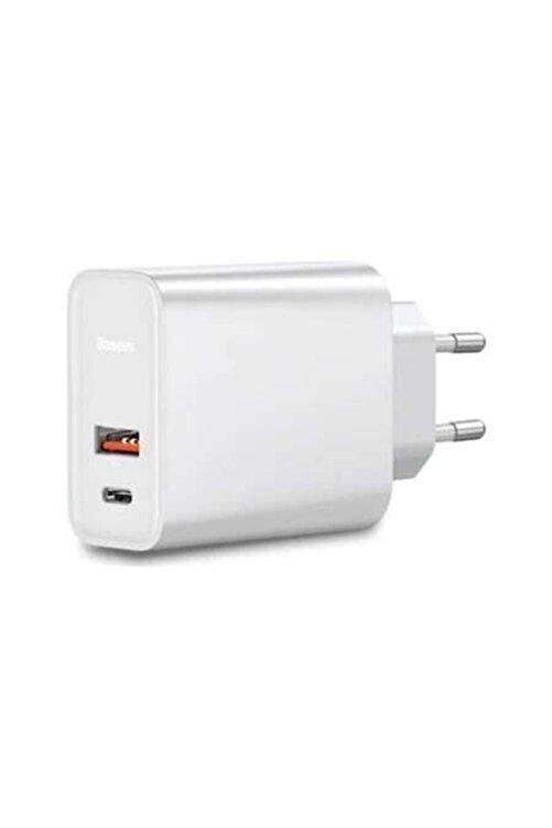 Baseus Pps 30W Hızlı Şarj Başlığı CCFS-C01 Beyaz 1