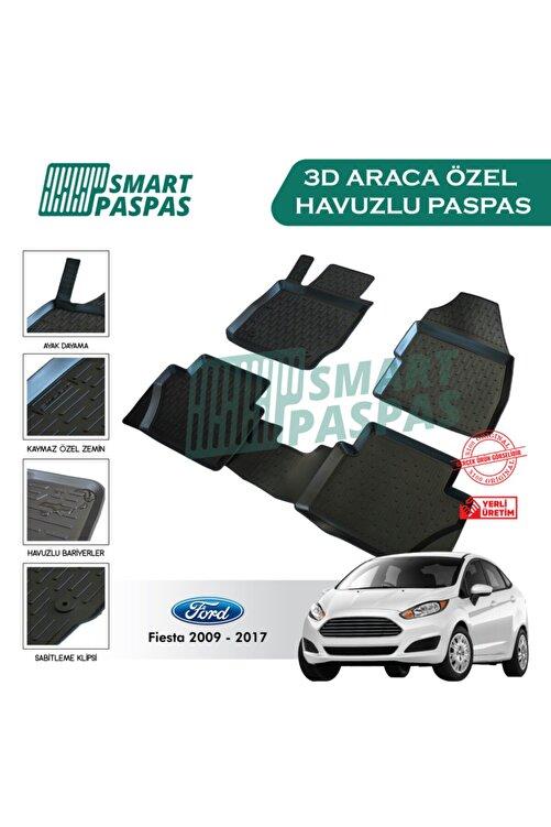 smart paspas Ford Fiesta 2009-2017 3d Havuzlu Paspas 1