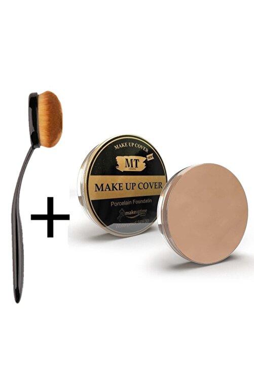 Makeuptime Mt Make-up Cover Fondöten Kapatıcı Pata Krem 209 Açık Ton (fırça Hediyeli) 1