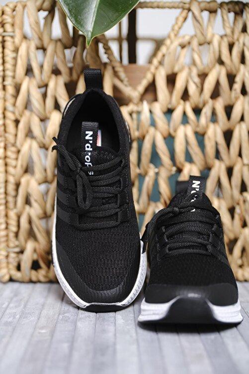 Oksit Erkek Çocuk Siyah Leonore Fileli Sneaker 2