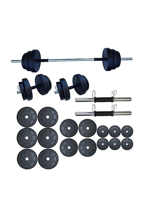 Dambılcım Halter Seti Dambıl Seti Ağırlık Ve Vücut Geliştirme Aleti 85 kg 1