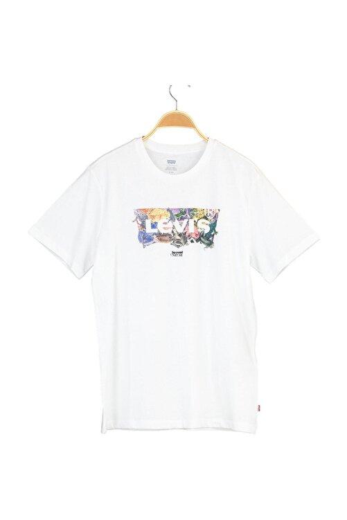 Levi's Erkek Housemark Graphıc Tee Lse_Ssnl Mv Frog T-Shirt 22489-0392 1