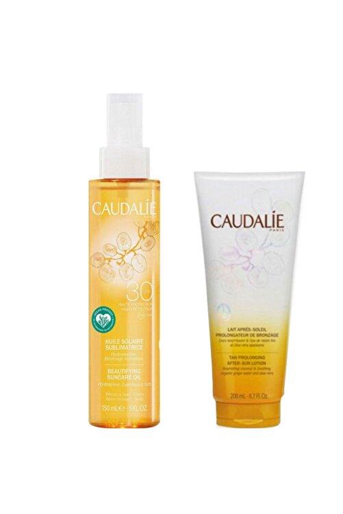 Caudalie Soleil Divin Beautifying Suncare Oil Set 150 ml 1