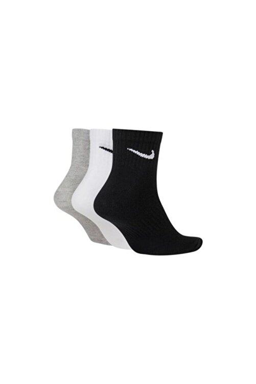 Nike Unisex Everydat Cush Ankle 3lü Spor Çorap-sx7677-901 2