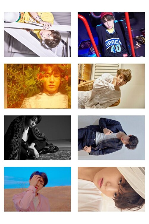 """BTS """" Jungkook """" Fotokart Seti 2"""