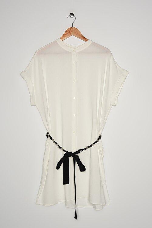 İpekyol Kadın Beyaz Tunik IS1200016032 1